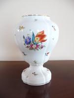 Antik Herendi virág mintás, Kitty mintás váza