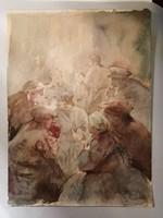 """""""Ebédszünet"""" - Berky Akvarell"""