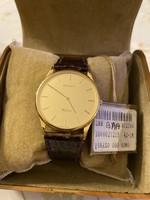 Zenith Winsor extra lapos arany gyönyörű óra