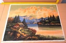 Festett tájkép eladó