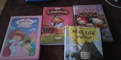 Mekk Elek, Hello Kitty, A gumimacik és Eperke -  4 db  gyerek mese  DVD  lemez
