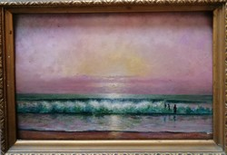 Czölder Dezső (1875-1933) Eredeti Festmény Garanciával