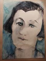 Biai-Föglein István Női portré