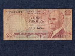 Törökország 20 Líra bankjegy 1979 (id40369)