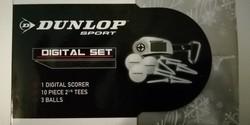 Eredeti Dunlop ajándék golf szett