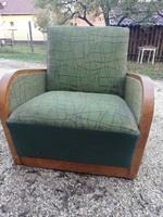 Ritka art deco fotelágy
