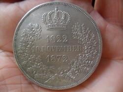 Ezüst Szász 2-Tallér 1822-1872 B