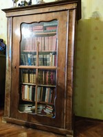 Biedermeier könyvesszekrény