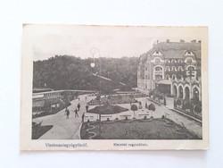 Régi képeslap 1913 Vízakna Sósgyógyfürdő Kincstári nagyszálloda
