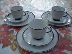 WINTERLING MARKTLEUTHEN 3 részes reggeliző készlet 3 személyes hibátlan