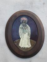 Kovácsné Mórocz MáriaTűzzománc alkotása