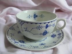 """Antik Kék-fehér angol Furnivals """"Denmark teás szettek"""