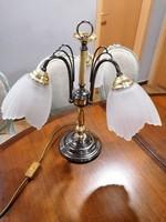 Jugendstil stilusú 3 burás asztali lámpa.Alkudható!