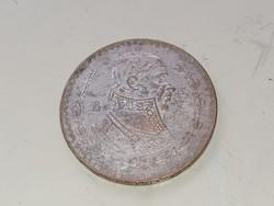1958 Mexikan un peso. Unidos Mexikanos