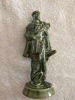 Zsolnay szobor pár