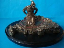 Ficzek Károly : Árpád és Trianon ., bronz