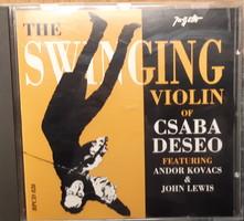 DESEÖ CSABA : THE SWINGING VIOLIN   -  JAZZ CD