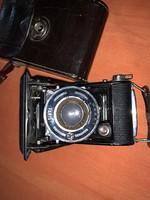 Antik harmonikás fényképezőgép