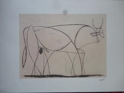 Egy szuper bika Picasso-tól - eredetigazolással