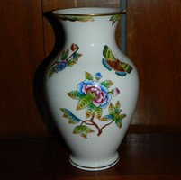 Herendi Viktória mintás váza 18 cm