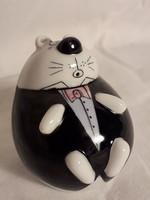 Goebel porcelán só szóró állat figura egérke A&Z ritkaság!