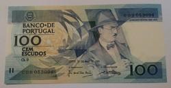 Portugália 100 Escudo 1988 Unc.