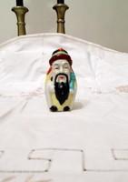 Kézzel festett régi japán porcelán figura szobor
