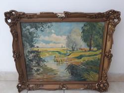 ILLENCZ LIPÓT (1882-1950):eredeti festménye
