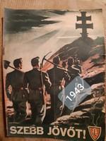 Szebb jövőt !  1943 húsvét képes hetilap