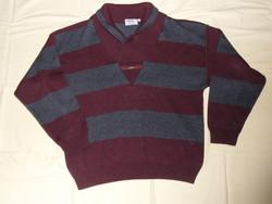 LIBERTY férfi kötött pulóver, felső ( 50-es)