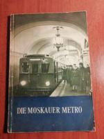 A Moszkvai metró - Német nyelven, 1954