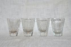 4 db régi pohár  ( DBZ 00123 )