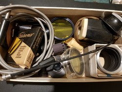 """Retro fotós kiegészítők """"stílusosan"""" egy SOKOL rádió dobozában...!"""