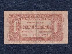Csehszlovákia 1 Korona bankjegy 1944 (id12937)