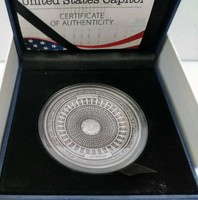 Szamoa 2017 Capitolium speciális tiszta ezüst antikolt érme