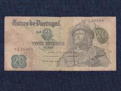 Portugália 20 Escudo bankjegy 1971 (id12891)