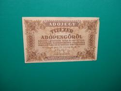 10000 adópengő 1946 vízjeles papíron!