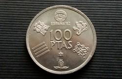 Spanyolország 100 Pezeta 1980. aUnc.