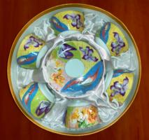 Porcelán teáskészlet díszdobozban