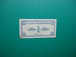 Ausztria 1 schilling 1944 Katonai kiadás Ritkább!