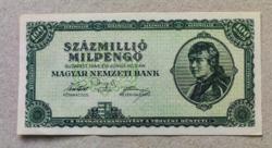 100,000,000 Milpengő 1946 AU-UNC