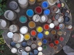 Régi festőművészeti  pigmentek