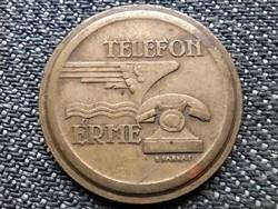 Magyar telefon érme tantusz (id40583)