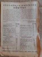 Cserkész könyvrendelő lap