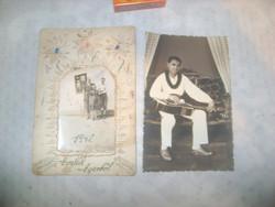 Két darab antik fotó - 1942