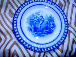 Szecessziós 1800-as évek végéből fali tányér - Waechtersbach
