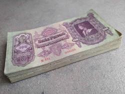 Mátyás 100 pengő 76 db bankjegy LOT 1930 (id38847)