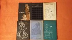 6 könyv a 70-es évekből a Helikon Kiadótól: Kuprin, Du Gard, Rajcsev, De Lafayette, Sztanev, Alarcón