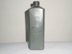 Retro HYPO műanyag flakon domború felirat - Extruder GMK Kaba - 1980-as évekből