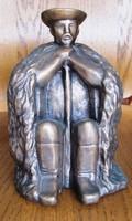 """Somogyi Árpád szobrász. Egyedi bonz """"Juhász"""" című szobra! Jelzett."""